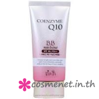 Man with Fower Coenzyme Q10 BB Cream Sun Base