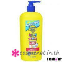Kids Family Size Pump SPF 50 Lotion