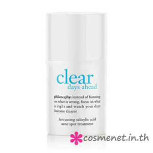 Clear Days Ahead Fast-Acting Salicylic Acid Acne Spot Treatment