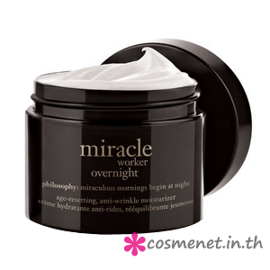 Miracle Worker Overnight Age Resetting, Anti-Wrinkle Moisturizer