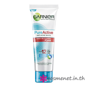 Pure Active Anti-Acne White Acne & Oil Clearing Foam