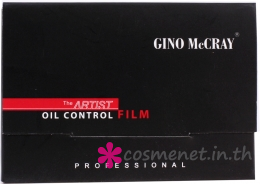 GINO McCRAY The Artist Oil Control Film