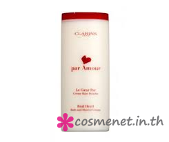 Par Amour Real Heart Bath and Shower Cream