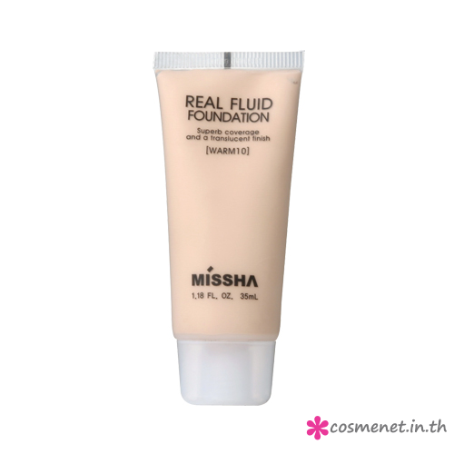 Real Fluid Foundation(warm10)