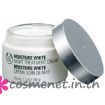 Moisture White Night Treament Cream