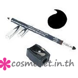 Long-wear Waterproof Eyeliner Pencil with Blending Tip and Sharpener