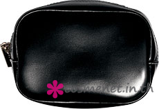 Cosmetic Bag-Silver Zipper