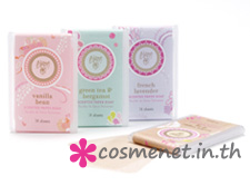 Scented paper soap