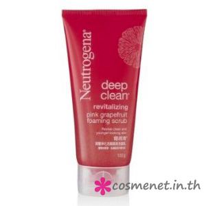 Deep Clean Revitalizing Pink Grapefruit Foaming Scrub