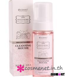 Mixed Berry Brightening Cleansing Mousse