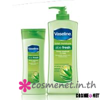 Vaseline Total Moisture Aloe Flesh Lotion