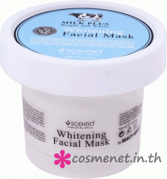 Scentio Milk Plus Whitening Q10 Facial Mask