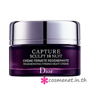 Capture Sculpt 10 - Regenerating Firming Night Creme