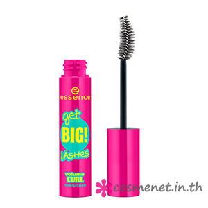 new in town get BIG! lashes volume curl mascara