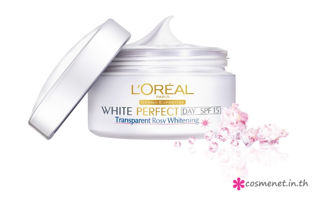 White Perfect Transperenc Rosy whitening day cream SPF 15