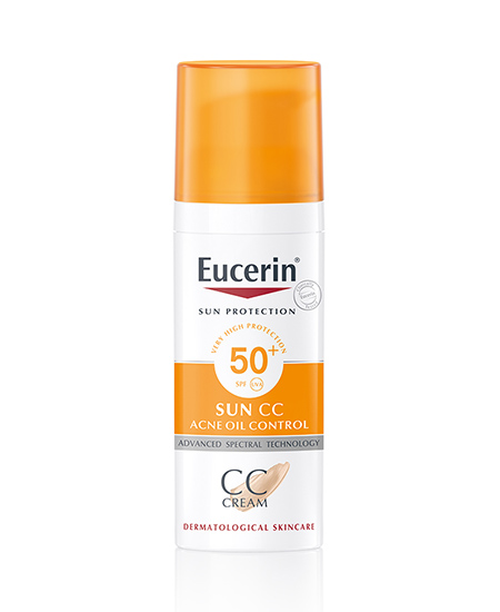 Eucerin SUN CC Acne Oil Control