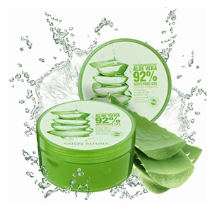 Nature Republic : Aloe vera 92 soothing gel