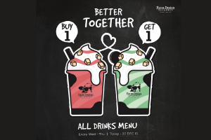 Farm Design Buy 1 Get 1 All Drinks