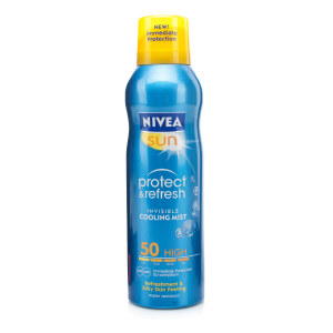 Sun protect & refresh invisible cooling mist
