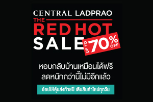 Central Ladprao The Red Hot Sale up to 70% off
