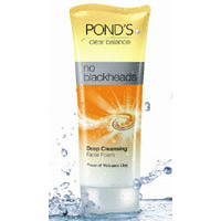 PONDS : Clear Balance No Blackheads Deep Cleansing Facial Foam