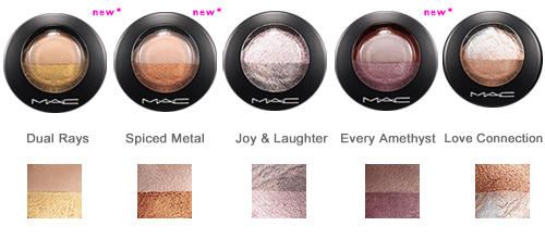 M.A.C.  MINERALIZE EYESHADOW - DUO