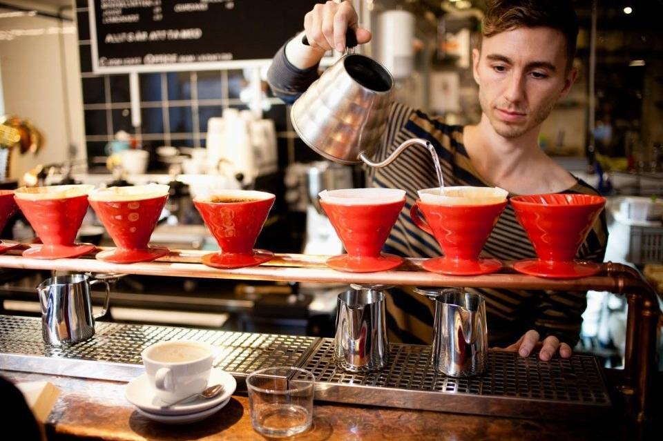Drop Coffee Roasters in Stockholm